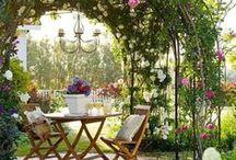 Relaks w ogrodzie / Zatrzymaj chwilę
