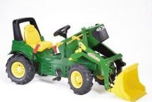 Nothing Runs Like a Deere / Everything you ever imagined for children who LOVE tractors, in particular John Deere. For boys and girls alike, these durable, high quality ride on tractors are so close to the real John Deere's it's scary.