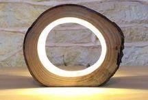 LIGHTING DESIGN / Lighting creations, modern designs featuring LED lighting