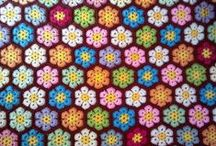 Flower blanket ideas - crochet / I see some crochet flower blankets in my future, here are some colours and designs I'm feeling inspired by... / by Sammy Field