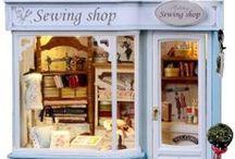 Dollhouse - Victorian dress shoppe / by Patricia Gartner