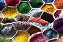 Hexagons - crochet / by Sammy Field
