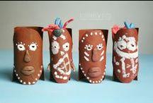 toilet paper roll crafts - projekty z rolek / Toilet paper roll craft ideas for kids / pomysły na prace plastyczne z rolek dla dzieci