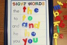 Sight Words / Fun, interesting, useful ideas how to help students learn their sight words / by Sammy Field