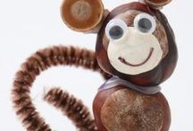 Animal crafts - zwierzęta - kreatywne pomysły / animal crafts for kids / pomysły na prace plastyczne dla dzieci ze zwierzętami