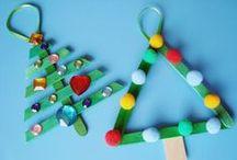 christmas crafts and activities - prace bożonarodzeniowe / Christmas crafts and activities for kids / Pomysły na kreatywne, świąteczne prace plastyczne i techniczne dla dzieci