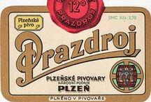 Pilsner Urquell, labels