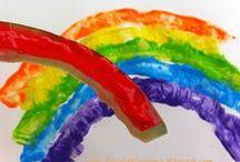 colours - kolory / Colours crafts and activities for kids / kolory - zabawy i prace plastyczne dla dzieci