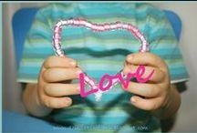 Valentines Day - Walentynki / Valentines Day crafts and activities for kids / walentynkowe pomysły na prace i zabawy dla dzieci