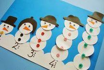 winter crafts/zimowe projekty / winter crafts for kids /zimowe prace plastyczne i zabawy dla dzieci