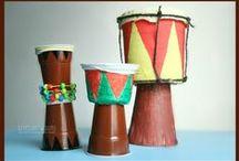 Musical Instrument crafts for kids/ instrumenty muzyczne DIY / Musical instrument crafts for kids / Instrumenty muzyczne DIY dla dzieci