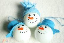 Christmas tree ornaments / ozdoby na choinkę DIY / Christmas tree ornament crafts for kids / pomysły na ozdoby na choinkę dla dzieci zrób to sam