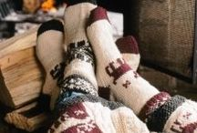 Baby it's cold outside / Decorations for the home the entire winter season/snowboarding/cosy theme
