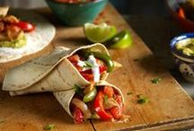 #FajitaFriday / Get your hands messy with one of the best-loved Mexican dishes. Little strips of sizzling beef or chicken, cooked with onions and peppers rolled in a soft flour tortilla. Or stuff your fajita with crisp lettuce, salsa, sour cream and cheese, whatever your fajita craving we hope we can help inspire you this Fajita Friday!! Lets make every Friday a Fajita Friday!