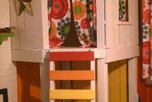 Levi szobája / Kisfiú szoba, színes, autós, galériás