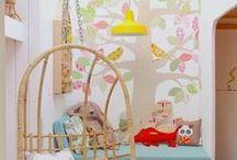 Lili szobája / kislány szoba, babaszoba - tündéres, manós, varázs világos