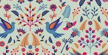 Patterns by Eva Lechner / Pattern, Prints, Ornaments