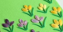 Spring crafts / wiosenne prace plastyczne / wiosenne prace i pomysły dla dzieci, zajęcia w domu, przedszkolu i szkole