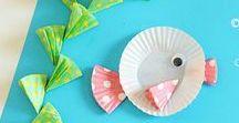 Summer crafts and activities / zabawy na lato / Pomysły na prace plastyczne i zabawy dla dzieci na lato