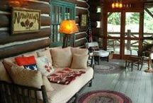 Cabin Decorating Ideas / Rustic design ideas and items to decorate your cabin or lodge-themed home.