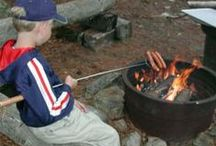 Camp Cooking / Recipes and ideas to cook while camping or at your cabin! Think fast pancakes for the gang, warm, sunny lunches at the lake, dinner on the grill and campfire treats!