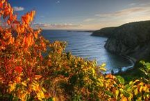 Autumn Falls Over Cape Breton / Cape Breton is an Island whose beauty will ensnare you, but in autumn as the leaves turn, the colours burn and the highlands come alive with the fierce magnificence of the season, that truly is when this place is most magical.