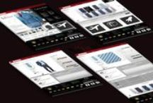 E-commerce // The ArTIEst / Creazione di un sito per la vendita delle cravatte. Suddiviso subito in due macrocategorie (prodotto e designers) il cliente puo gia filtrare quello che cerca. A rendere unico l'e-commerce sara poi la possibilita di personalizzare un profilo umano per vedere come potrebbe stare la cravatta scelta con vari indumenti.