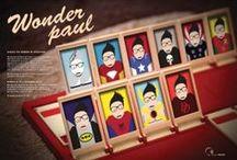 """WonderPaul / SCEGLI IL TUO WONDER PAUL!  Perché con me si ha non una, ma un'infinita possibilità di scelta: in qualunque posto sono capace di ambientarmi  e di adattarmi molto velocemente,  grazie al mio """"trasformismo"""".  Mi metto in gioco. E voi?"""
