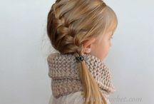 Girlish hair!
