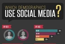 Social Media : Infographic Awesomeness / Most of us use it every day ... others not so much.  Either way, it's undeniably become a huge part of the world's lifestyle & way of communicating.  It's always growing & updating too! (*insert excited scream)