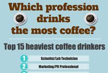 Coffee : Infographic Awesomeness / *rubs eyes *sigh *sip ..... AAAH.  Heaven in a cup.  Tastes delicious and makes every morning a little bit more bearable!
