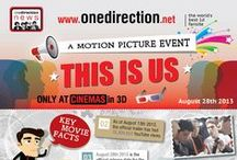One Direction : Infographic Awesomeness / One WHO? (*nervous laugh) Just kidding all you 1D fans out there!