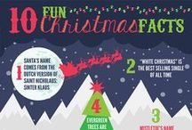 Christmas Infographics : Infographic Awesomeness / HO HO HO!  It's almost time, people!  Have you put up your tree yet?  Well, have you?