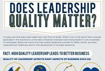 Leadership : Infographic Awesomeness / There are many leaders out there in the business world.  Some inspirational- others, not so much.  Do you have what it takes to make an effective and respected leader?
