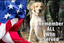 Remembering Our Heroes / Memorial Day and Veterans Day #militaryworkingdogs #servicedogs
