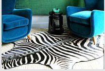 Lighting and rugs