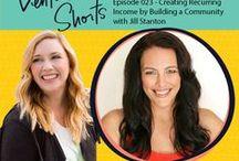 6 Figure Biz Interviews - Venture Shorts Podcast / Want to be a guest on the Venture Shorts Podcast? Email ventureshorts@gmail.com for details! -Molly