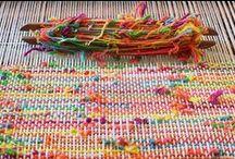 Arte com lã, linha, fios e arames.