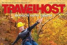 TRAVELHOST of Branson Happy Camper / #1 Travel & Destination Magazine for Branson Missouri Campers / by TravelHost
