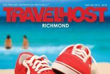 TRAVELHOST of Richmond / #1 Travel & Destination Magazine for Richmond Virginia / by TravelHost