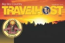 TRAVELHOST of Big Sky Country / #1 Travel & Destination Magazine for Big Sky Country / by TravelHost