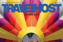 TRAVELHOST of Tampa Bay / #1 Travel & Destination Magazine for Tampa Bay Florida / by TravelHost
