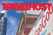 TRAVELHOST of Nashville / #1 Travel & Destination Magazine for Nashville Tennessee / by TravelHost