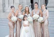 Beautiful Bridesmaids / Looks we love for the ladies you love. Your wedding wouldn't be complete without a beautiful bridal party.