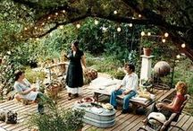 Backyard Wonderland / You don't have to travel far to reach nirvana: inspiration for everything you need to make your backyard the outdoor oasis you've always wanted.