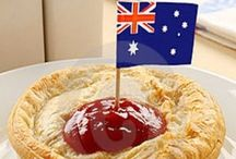 Football......meat pies....kangaroos and Holden cars! / Iconic symbols of Australian life