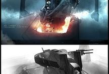 concept art practice and ideas / to get a feel for professionals work what to strive for and general ideas