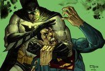 batman vs / by rodney prunty