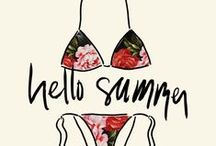 Summer Fashion / Beat the heat with the coolest clothing, shoes, swimwear, and accessories for summer time!