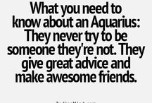 The sign Aquarius . / Everything you need to know about an  Aquarius .